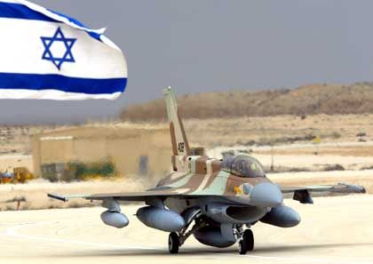 An Israeli F161 fighter is tested in the Negev desert.