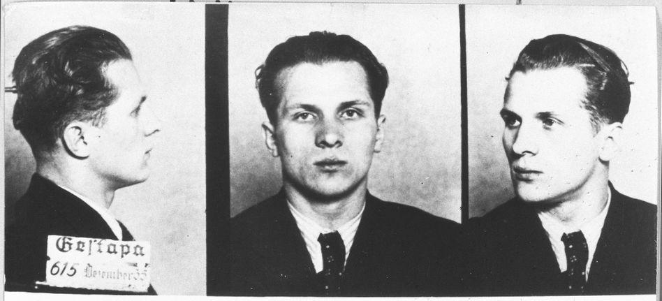 Honecker als Gestapo-Häftling 1935