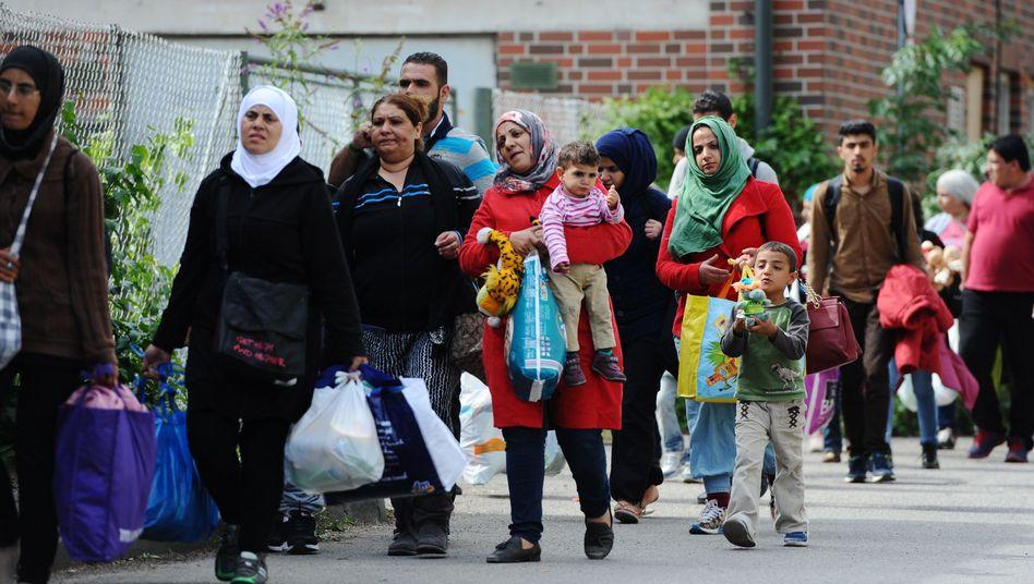 """Flüchtlinge in München: Bayern erwägt """"Notmaßnahmen"""""""