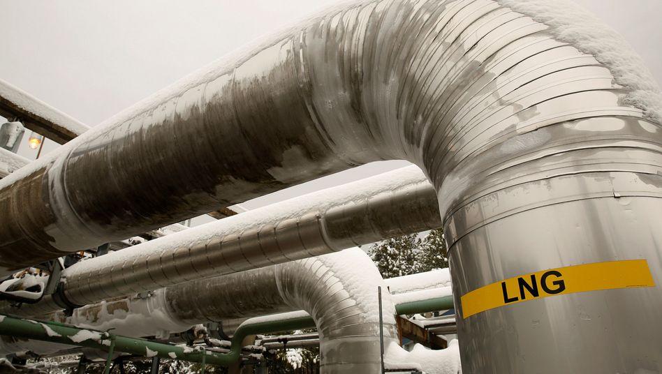 Flüssiggas-Pipeline