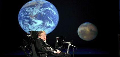 """Hawking beim Nasa-Vortrag: """"Wir sind in einer ähnlichen Situation wie Europa vor 1492"""""""