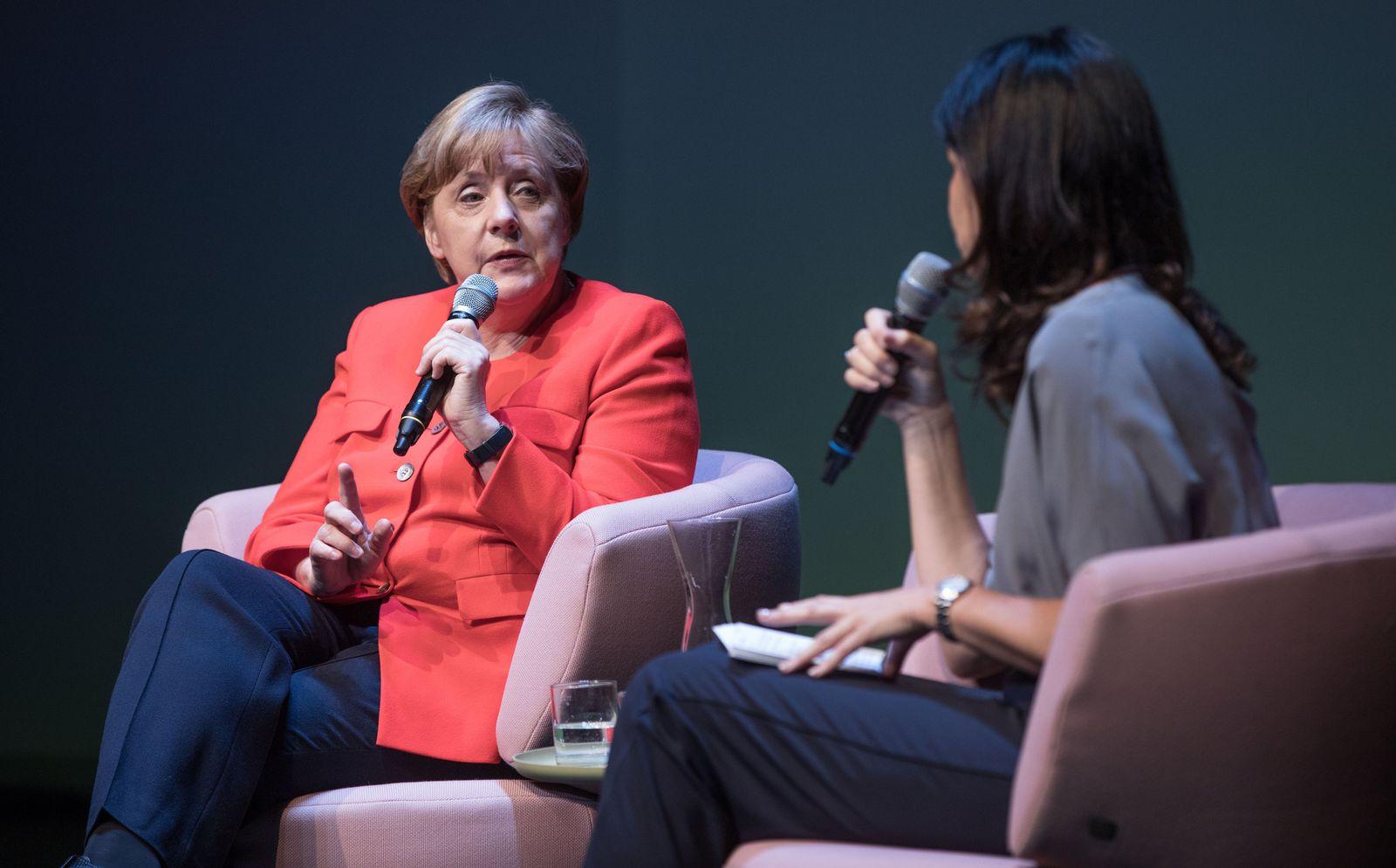 """""""Brigitte Live"""" mit Bundeskanzlerin Angela Merkel (CDU)"""