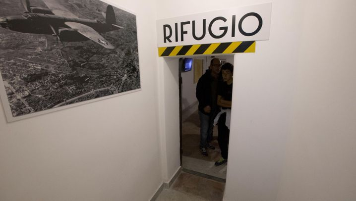 Mussolini-Villa in Rom: Benitos Bunker