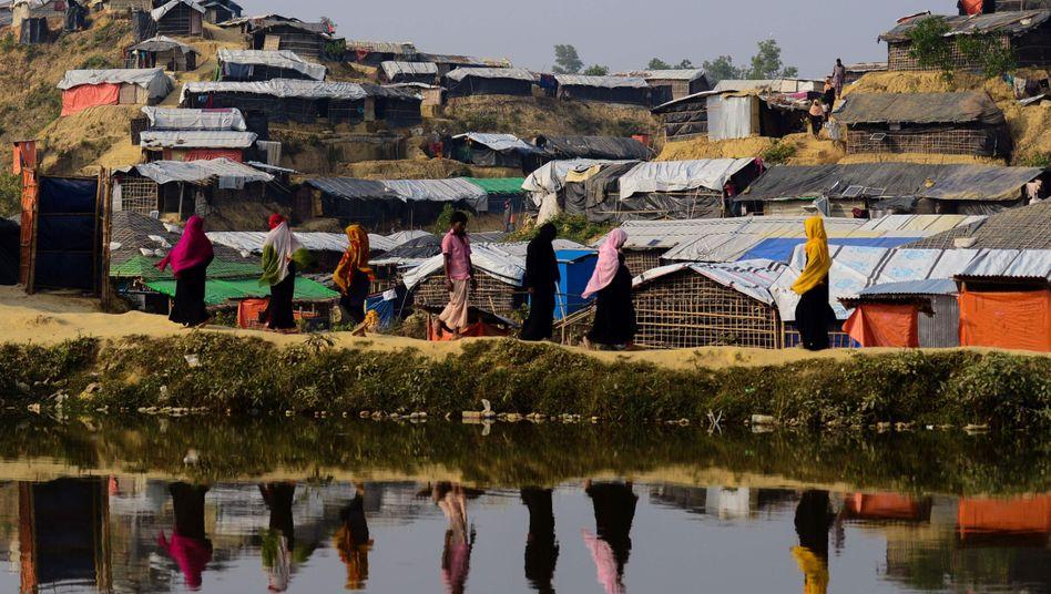 Rohingya im Flüchtlingslager in Bangladesch