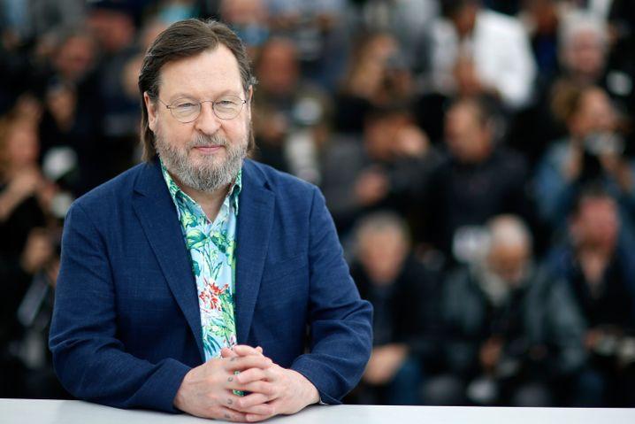 Lars von Trier in Cannes 2018
