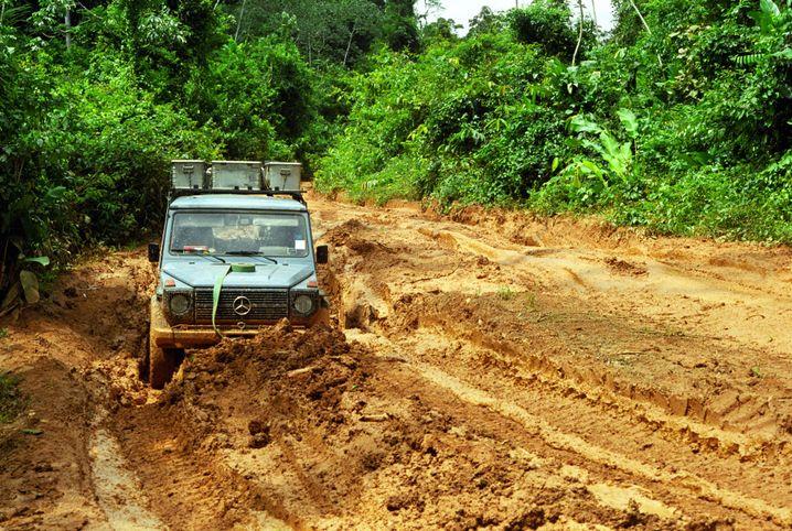 Durch den Schlamm nach Guyana