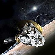 """Sonde """"New Horizons"""" (grafische Darstellung): Inversionswetter auf dem Zwergplaneten"""