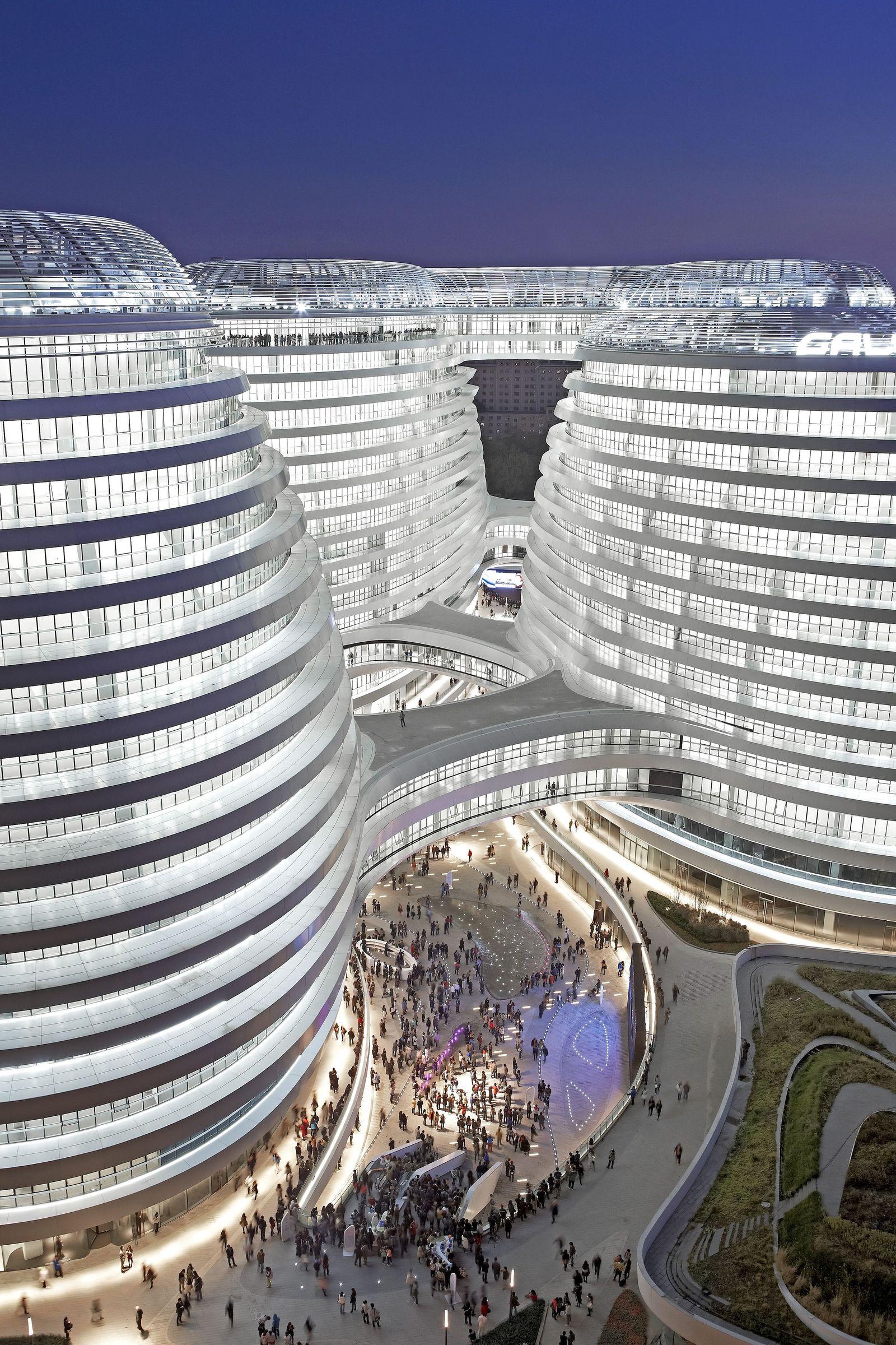 Bürokmplex Galaxy Soho Peking
