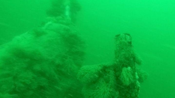 Seit hundert Jahren am Meeresboden: Das U-Boot-Wrack von Ostende