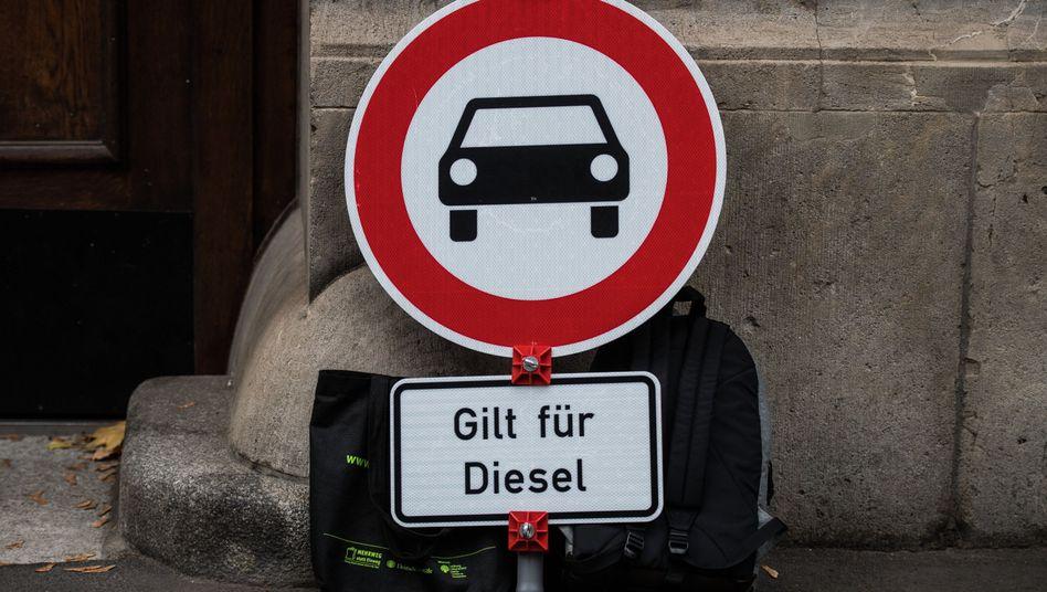 Verkehrsschild in Rheinland-Pfalz