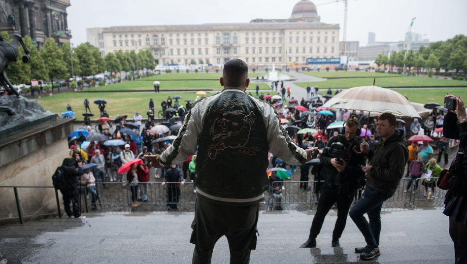 Zuletzt kamen nur noch wenige Demonstranten zu den Kundgebungen, hier in Berlin am 20. Juni