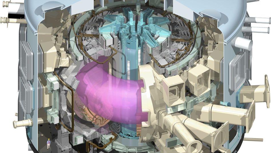 """""""Iter""""-Reaktor (Grafik): Hoffnung auf die Lösung der Energieprobleme"""