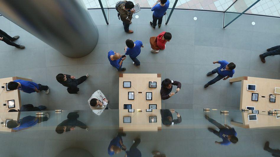"""Apple-Store in Peking: """"Die Leute haben einfach kein Geld"""""""