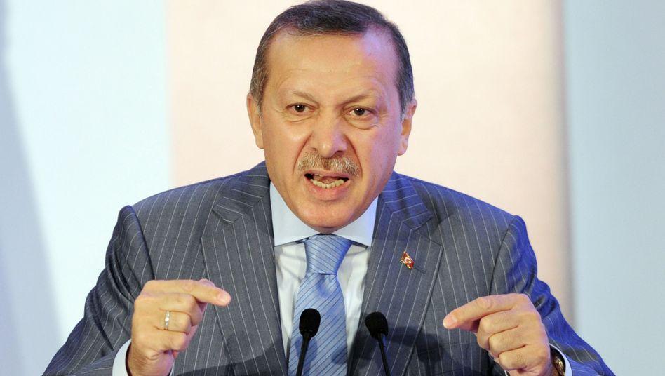 Türkischer Premier Erdogan: Verliert die Riege seiner Spitzengeneräle