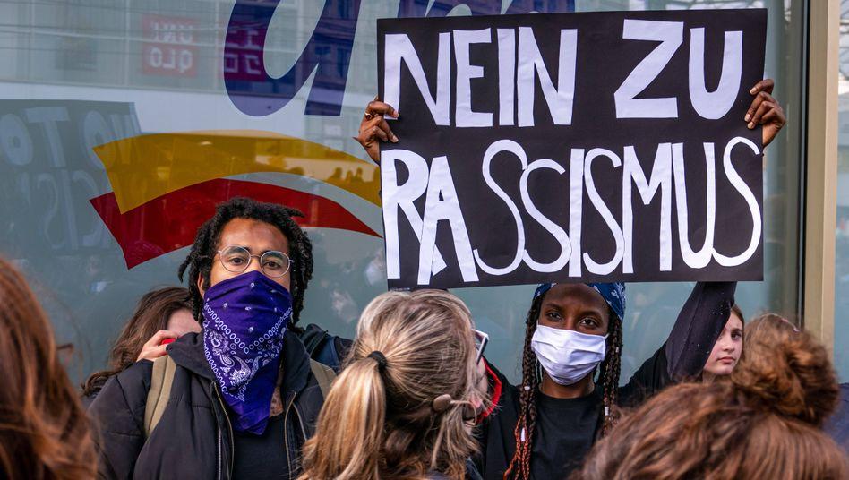 Anti-Rassismus-Demo im Sommer in Berlin