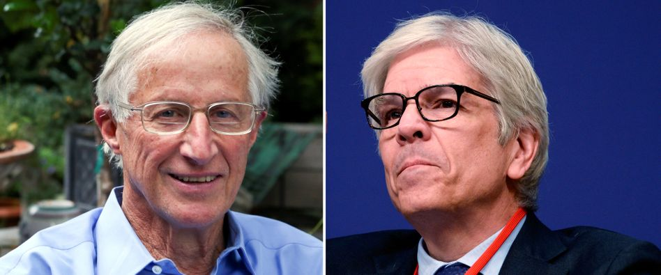 William Nordhaus (l.) und Paul Romer