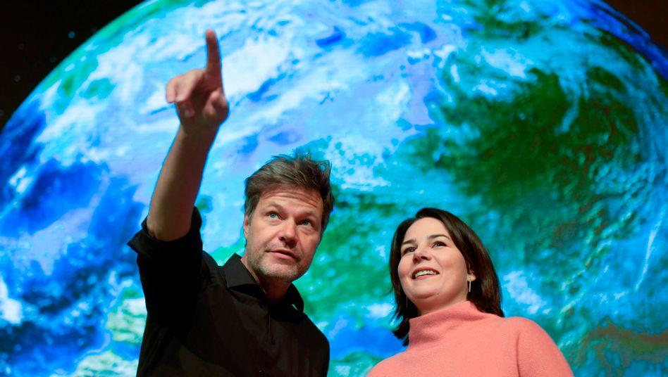 Annalena Baerbock und Robert Habeck: Argumentationshegemonie der Spitze