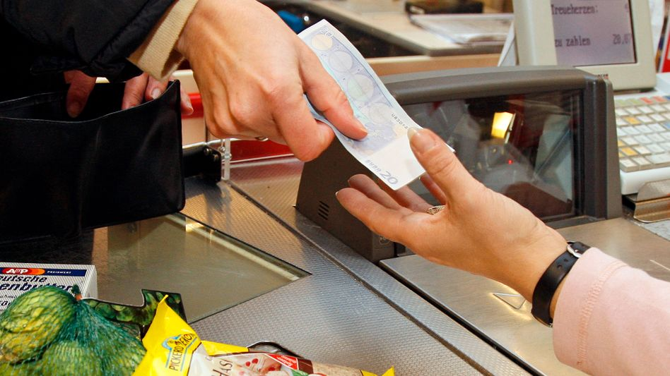 Will things get more expensive at the checkout line? Prices could rise in Germany as a result of rebalancing within the euro zone.