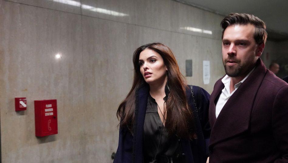 Talita Maia im New Yorker Gericht: Sie ist eine wichtige Zeugin der Verteidigung von Harvey Weinstein