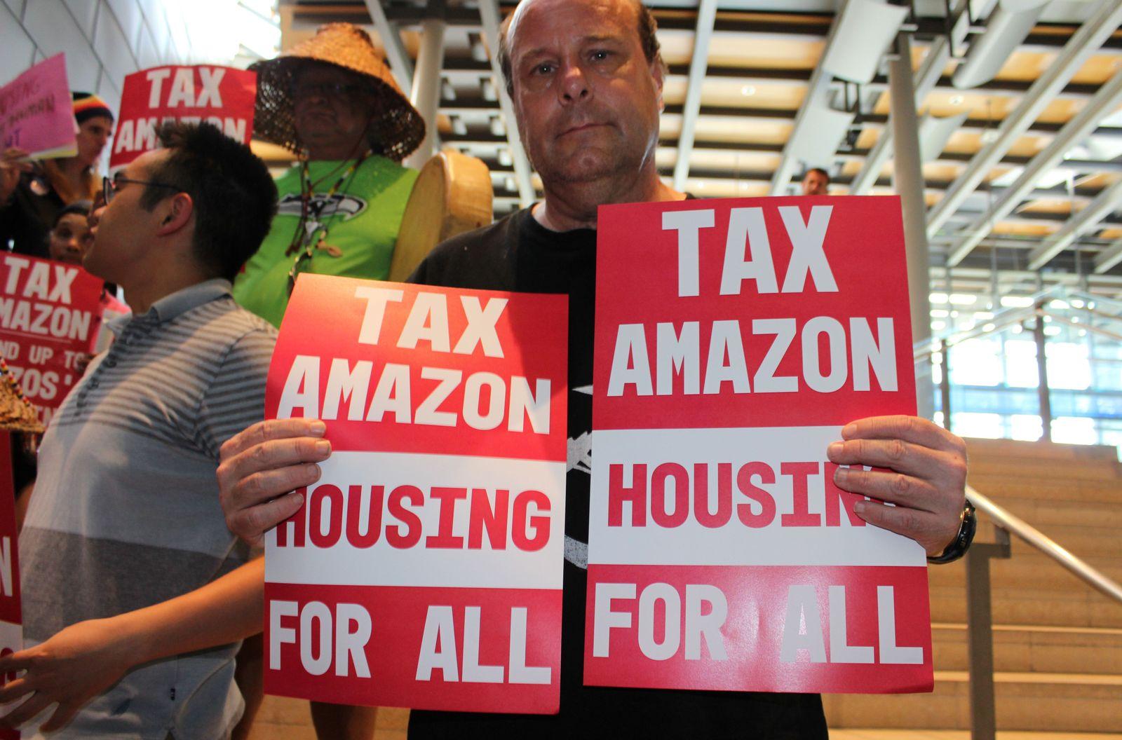 SEATTLE / Obdachlosigkeit / Steuer / Amazon