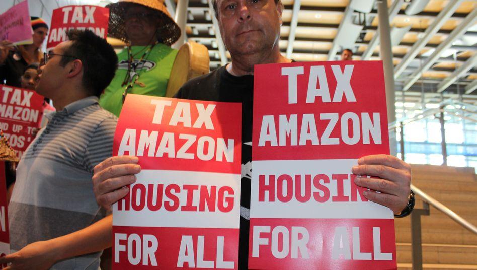 Befürworter der Anti-Obdachlosigkeits-Steuer