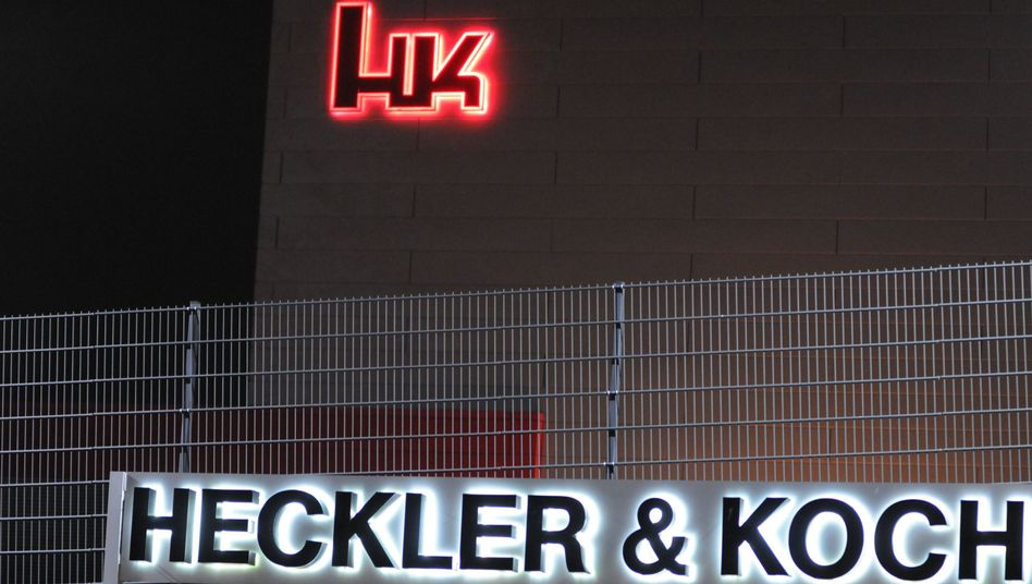 Firmenzentrale von Heckler & Koch in Oberndorf