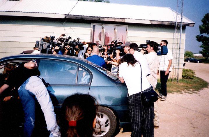 Steven Avery nach seiner Freilassung 2003: Sein Fall wirft bis heute Fragen auf