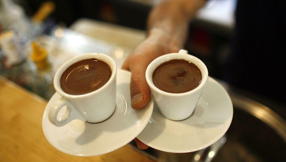 Kaffee-Genuss: Getrunken wird außer Haus