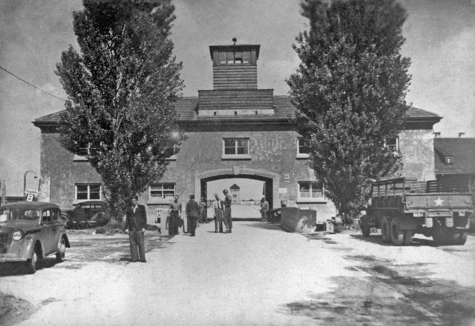 Building At Dachau Concentraton Camp