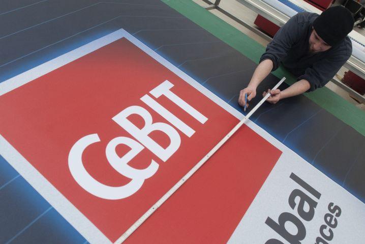 Cebit-Vorbereitungen: Mehr Aussteller, mehr Besucher, mehr Messe