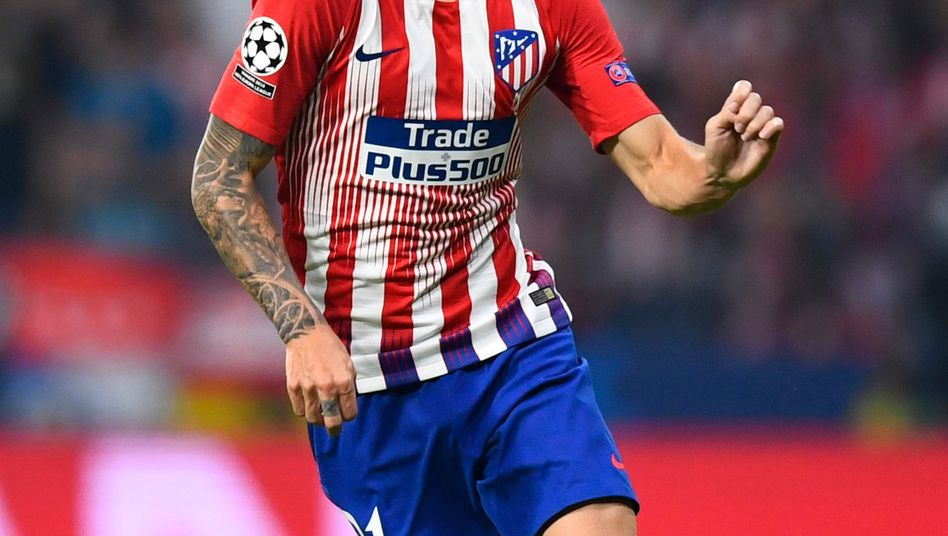 Lucas Hernández in Aktion