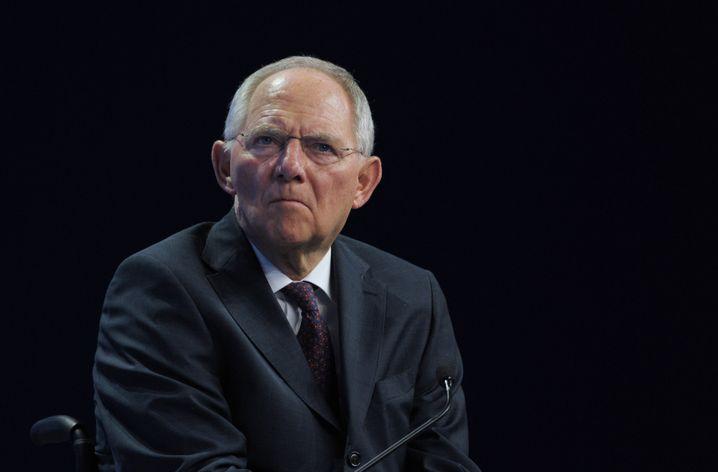 """Bundesfinanzminister Schäuble: """"Wir bedauern diese Entscheidung"""""""
