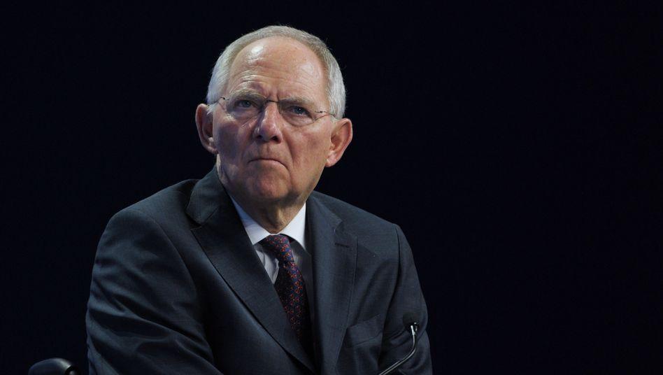 Finanzminister Schäuble in Davos: Neue Hilfen für das kriselnde Griechenland