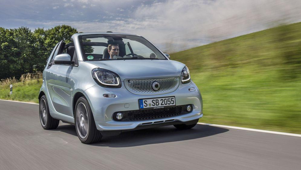 Autogramm Smart Brabus Cabrio: Der Kraftzwerg
