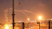 Raketenangriff in Grüner Zone in Bagdad