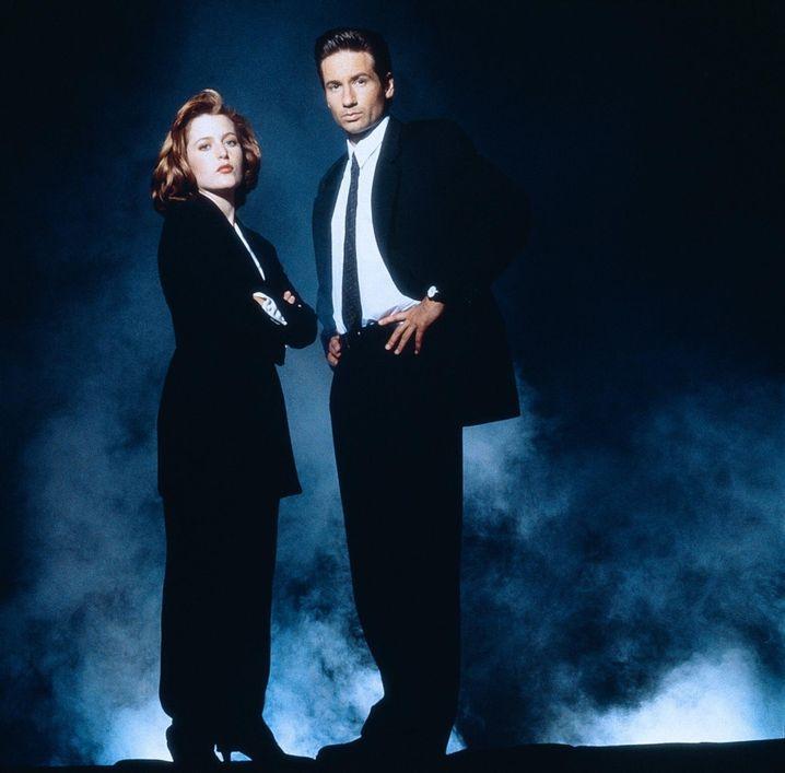 Doppelt geföhnt hält besser: Ermittlerduo Scully und Mulder