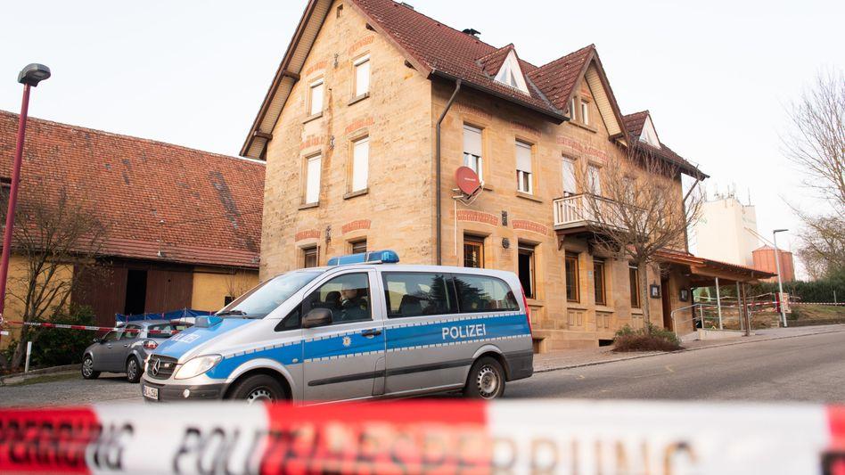 Tatort Gaststätte Deutscher Kaiser: sechs Menschen erschossen