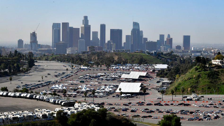 Impfzentrum in Los Angeles (Archivbild)