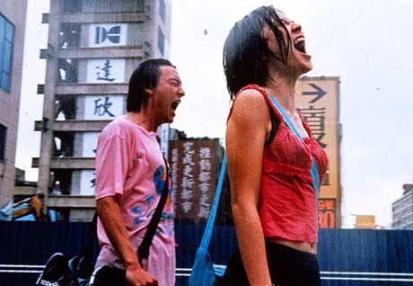 Zärtliches Paar auf der Suche nach Freiheit: Fei Fei (Malayin Sinje, r.) und Feng (Chang Chen)