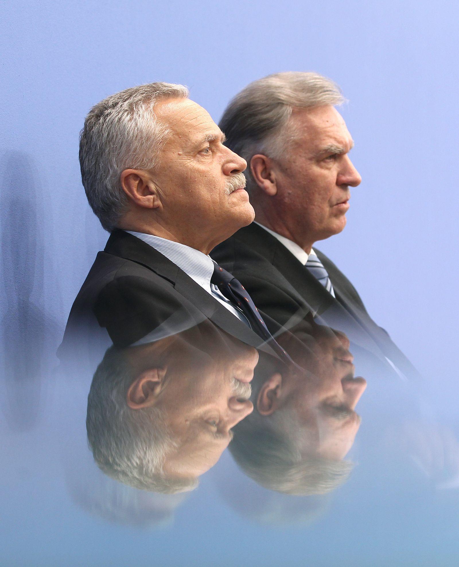 Jörg Ziercke und Heinz Fromm Untersuchungsausschuss