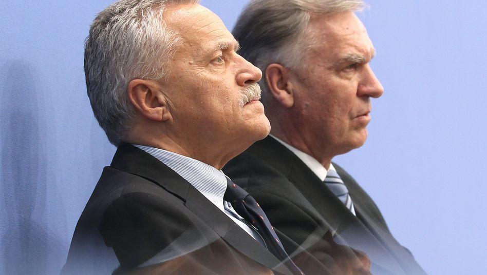 Heinz Fromm und Jörg Ziercke (2011): Aktenvernichtung durch den Verfassungsschutz