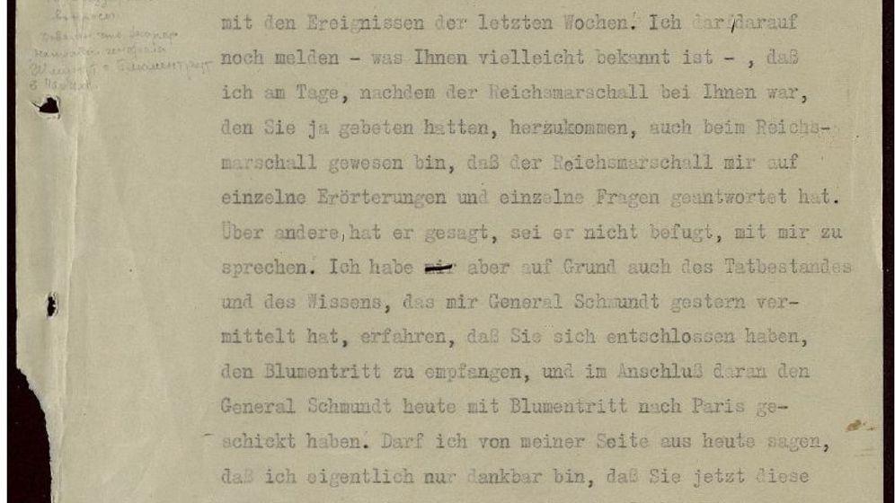 Archivfund in Russland: Wie Hitler seine Generäle beschimpfte