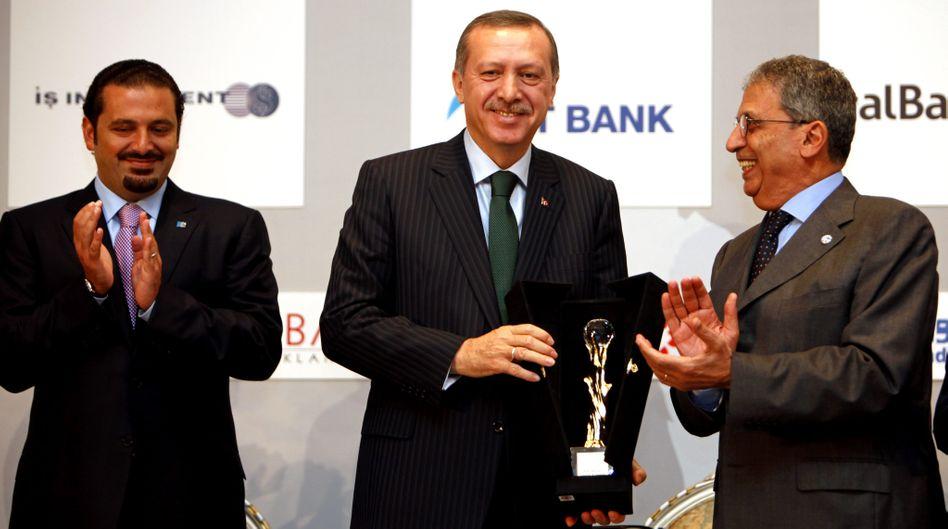 """Erdogan mit arabischen Gästen: Die Augen nicht vor """"Banditentum"""" verschließen"""