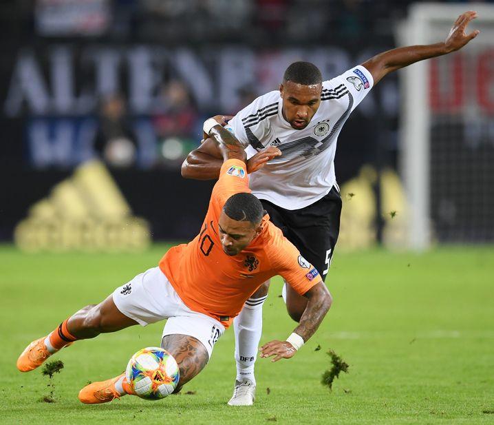 """Beim 2:4 gegen die Niederlande im September unterlief Jonathan Tah ein Eigentor: """"Ich versuche, mit Fehlern konstruktiv umzugehen."""""""
