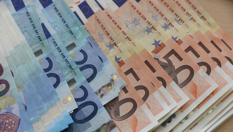 Euroscheine (bei der Bundesbank)