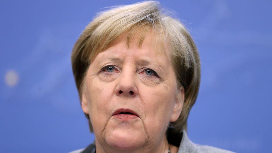 """Angela Merkel in Brüssel im Dezember: """"Diese vierte Amtszeit ist meine letzte"""""""