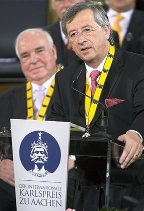 Europa-Politiker Juncker: Neue Wege angemahnt