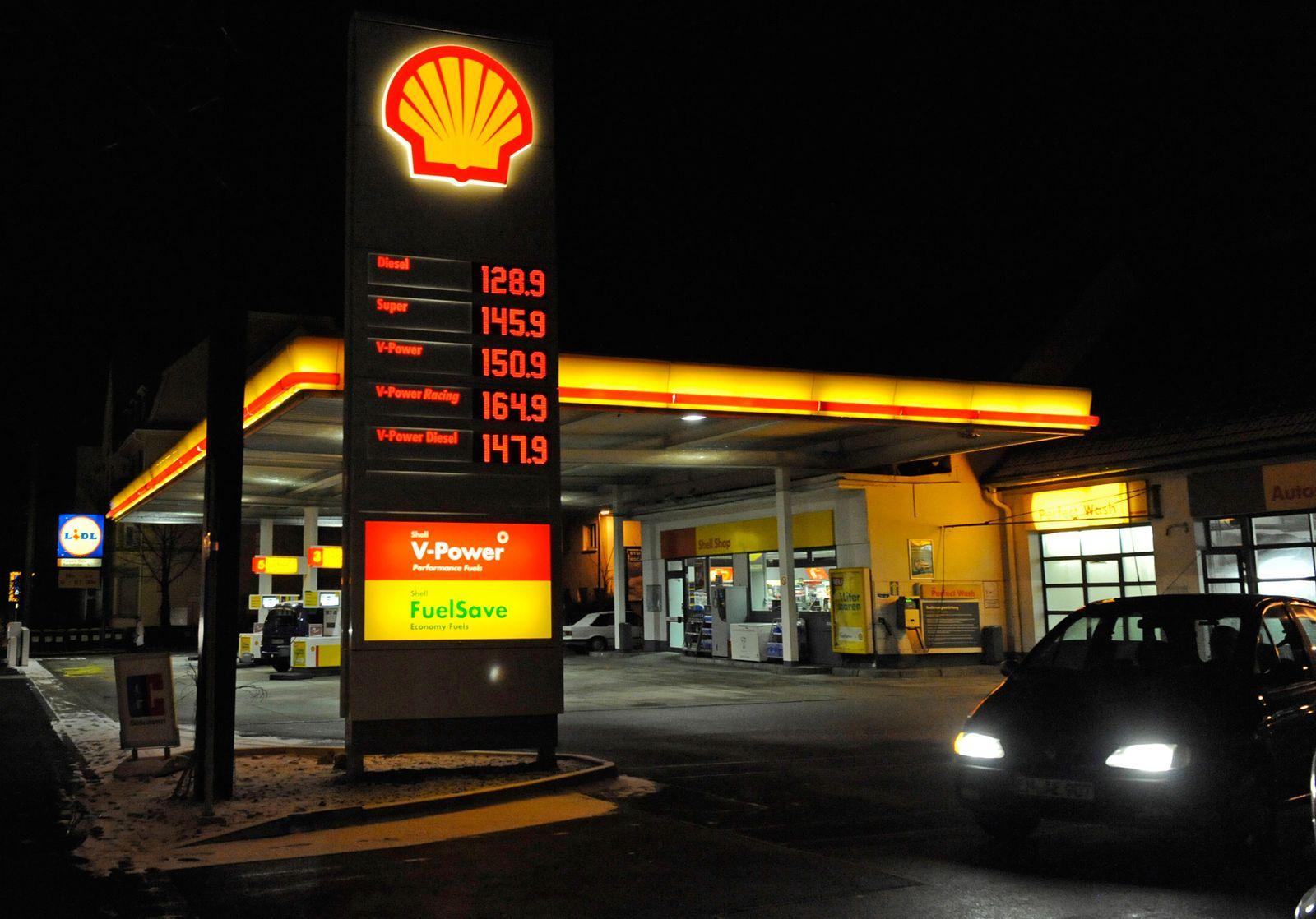 NICHT VERWENDEN Tankstelle / Shell
