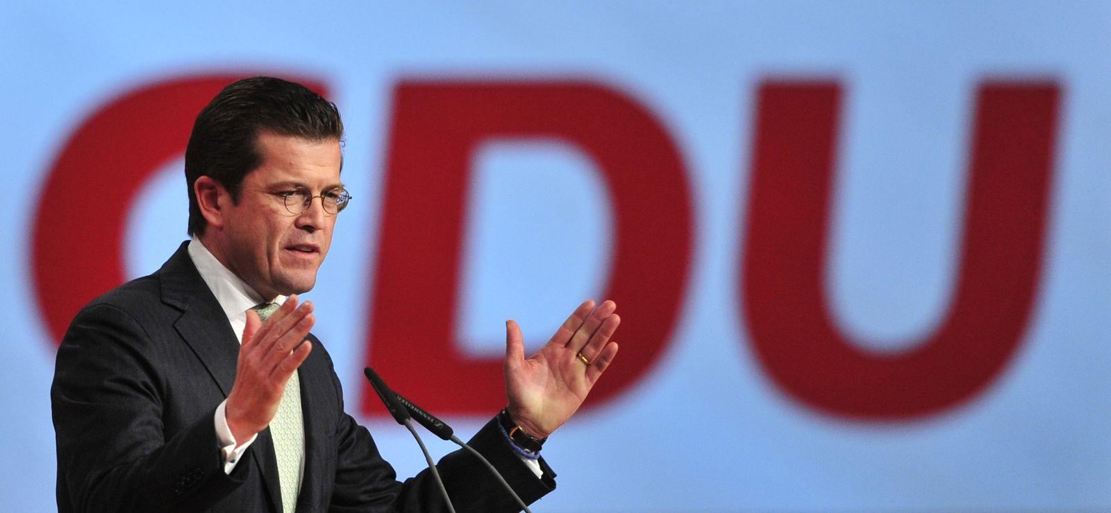 Guttenberg CDU-Parteitag