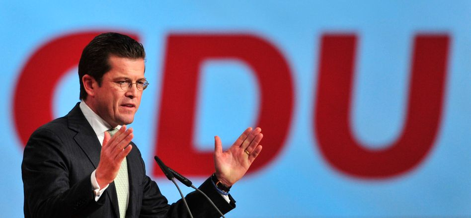 """Guttenberg bei der CDU in Karlsruhe: """"Partei der Bundeswehr"""""""